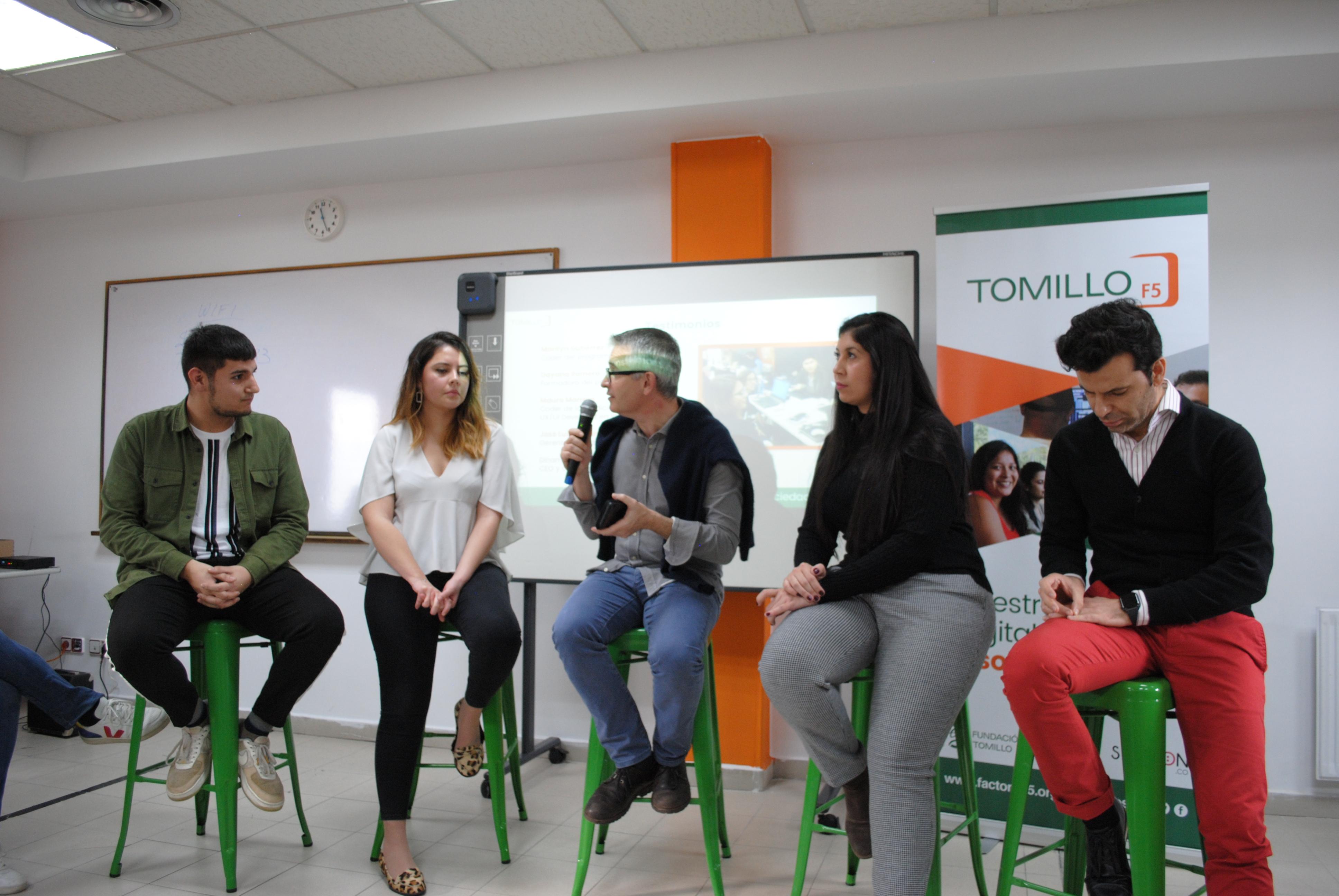 Inauguramos dos nuevas escuelas digitales inclusivas y solidarias en Madrid y Bilbao